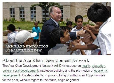 agakhan with students in kenya  @agemofanidea  digital pluralism