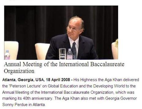 His Highness the Agakhan @mymulticast