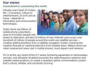 ITU has a mission @mymulticast