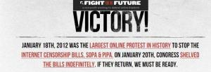 Fight for the Future #SOPA @mymulticast